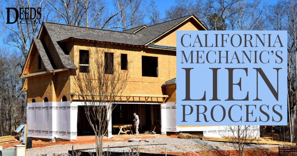The California Mechanic's Lien Process