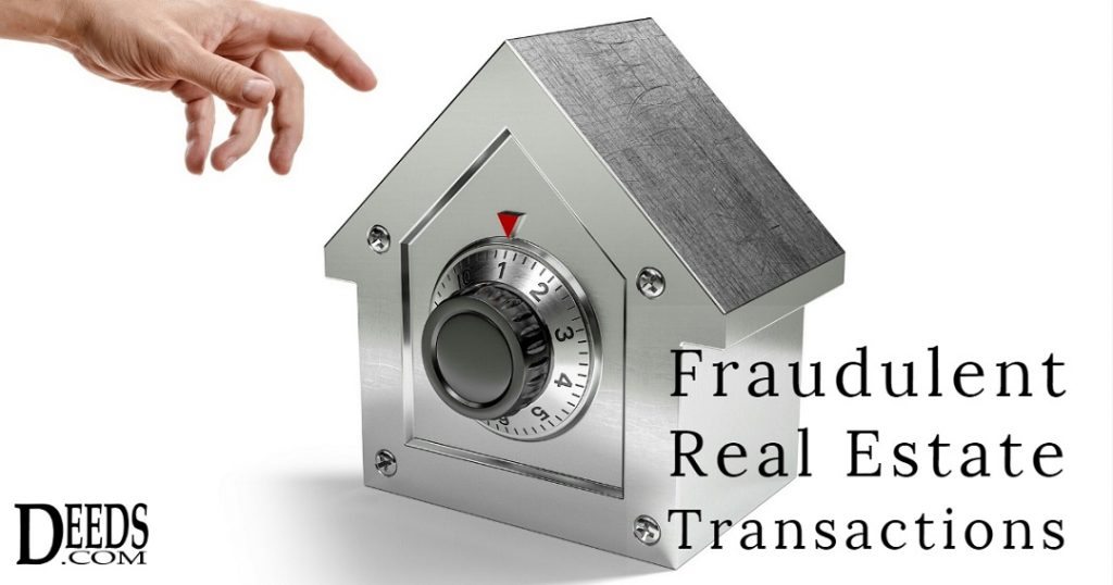 Image of a safe fashioned in the shape of a house with hand reaching to open- article discussing quitclaim deeds and their role in fraudulent real estate transactions.