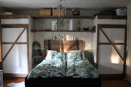 Image of a typical Airbnb bedrooms in Pennsylvania.