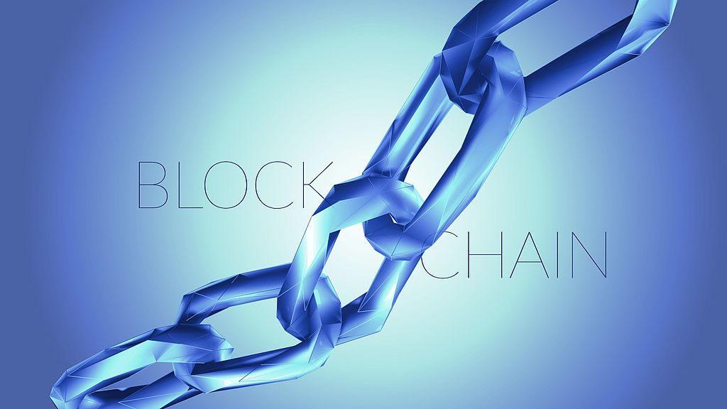 Image representing the idea of a blockchain.