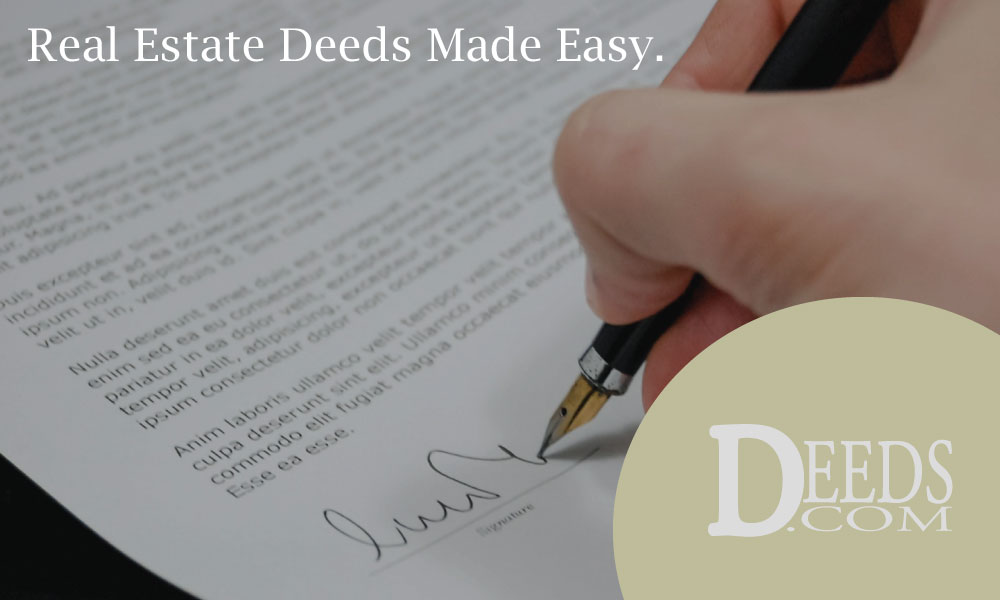 Deeds.com Real Estate Deeds Made Easy