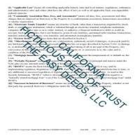 Fictitious Deed of Trust Form  Page 2 | Los Angeles County California