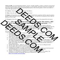 Quit Claim Deed Guide Page 4 | Los Angeles County California
