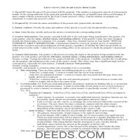 Kent County Grant Deed Guide Page 1