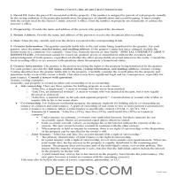 Sussex County Grant Deed Guide Page 1