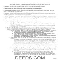 Noble County Personal Representative Deed Power of Sale Guide Page 1