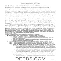 Fairfield County Grant Deed Guide Page 1