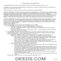 Todd County Grant Deed Guide Page 1