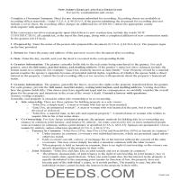 Middlesex County Bargain and Sale Deed Guide Page 1