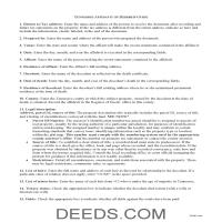 Claiborne County Affidavit of Heirship Guide Page 1