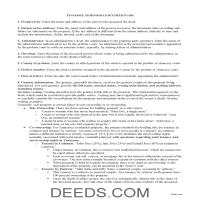 Lincoln County Administrator Deed Guide Page 1