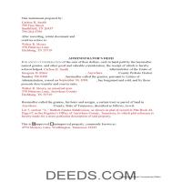 Marshall County Completed Example of the Administrator Deed Document Page 1