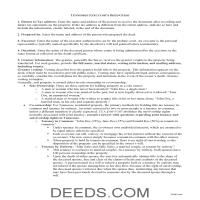 Union County Executor Deed Guide Page 1