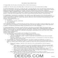 Tulsa County Grant Deed Guide Page 1