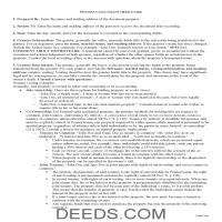 Northampton County Grant Deed Guide Page 1