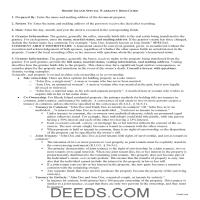 Providence County Special Warranty Deed Guide Page 1