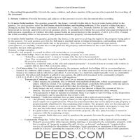 Yavapai County Gift Deed Guide Page 1