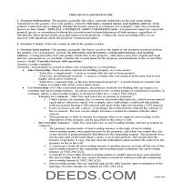 Cuyahoga County Quit Claim Deed Guide Page 1