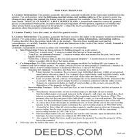 Miami County Grant Deed Guide Page 1