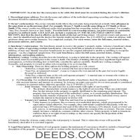 Yavapai County Beneficiary Deed Guide Page 1