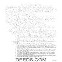 Miami County Warranty Deed Guide Page 1