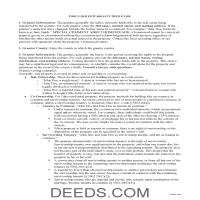Miami County Limited Warranty Deed Guide Page 1