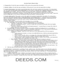 Pottawatomie County Grant Deed Guide Page 1