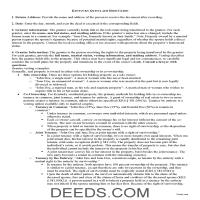 Metcalfe County Quit Claim Deed Guide Page 1