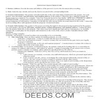 Monroe County Grant Deed Guide Page 1