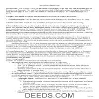 Lyon County Grant Deed Guide Page 1