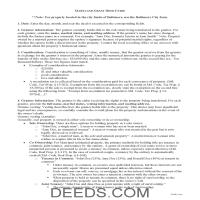 Talbot County Grant Deed Guide Page 1