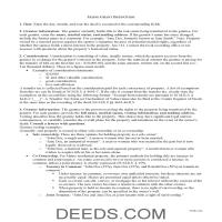 Kennebec County Grant Deed Guide Page 1
