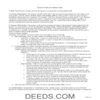 Kennebec County Warranty Deed Guide Page 1
