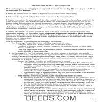 Delaware County Warranty Deed Guide Page 1