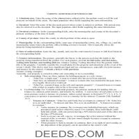 Orange County Administrator Deed Guide Page 1