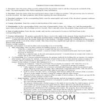 Rutland County Executor Deed Guide Page 1