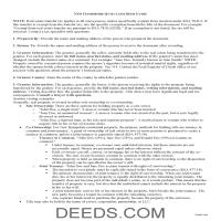 Cheshire County Quit Claim Deed Guide Page 1