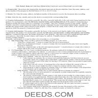Camden County Bargain and Sale Deed Guide Page 1