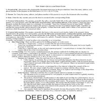 Middlesex County Quit Claim Deed Guide Page 1