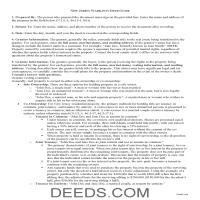 Morris County Warranty Deed Guide Page 1