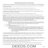 Cheboygan County Sworn Statement of Account Guide Page 1