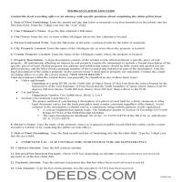 Ontonagon County Claim of Lien Guide Page 1