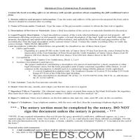 Clinton County Full Conditional Waiver of Lien Guide Page 1