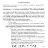 Oakland County Grant Deed Guide Page 1