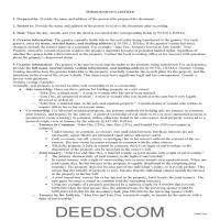 Webster County Quit Claim Deed Guide Page 1