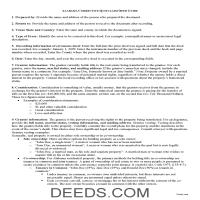 Pickens County Correction Quit Claim Deed Guide Page 1