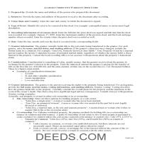 Wilcox County Correction Warranty Deed Guide Page 1