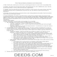 Brooke County Personal Representative Deed Guide Page 1