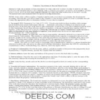 Mecklenburg County Transfer on Death Deed Guide Page 1