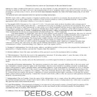 Madison County Transfer on Death Revocation Guide Page 1